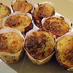 recette Muffins aux bananes et germe de blé