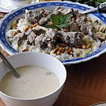 recette Mansaf (plat national de Jordanie)