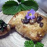 recette Cuisses de poulet farcies.