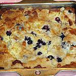 recette Gâteau aux bleuets et aux ananas