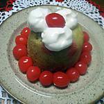 recette Gâteau individuels aux bigarreaux.