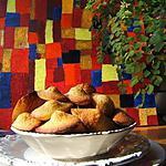 recette Madeleines à la crème de frangipane