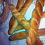 recette ficelles au graine de sésame et de nigelle