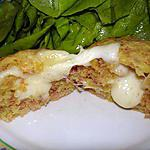 recette Muffins coeur coulant au Saint-nectaire