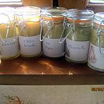 recette pots de moutarde assaisonnée aux aromates.