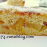 recette Gateau ananas,coco et caramel