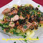 recette Salade de la côte d'opale