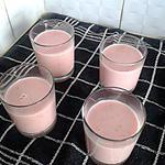 recette Panna Cotta aux fraises gariguettes