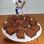 recette Brownies au chocolat et noix.