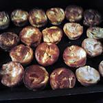 Miniquiches sans pâte