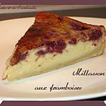 recette Millasson aux framboises