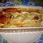 recette Gratin de pomme de terre au camenbert