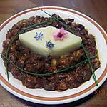 recette Rognon de porc aux champignons et sauce tomate.