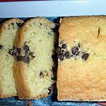 Cake coco et pépites de chocolat de sophie dudemaine