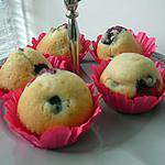 recette mini muffins aux myrtilles