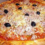 recette Pizza aux thons et a la tomates