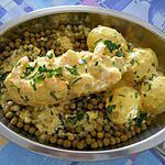 recette cuisse de poulet farcie légumes crevettes