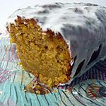 recette cake carotte et glacage a l'orange