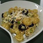 recette Salade de Gnocchi au Bleu et aux Pommes
