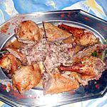 recette Canette farcie rotie au four