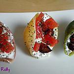 recette Pâtes farcies apéritives chèvre et chorizo