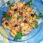 recette Salade de pommes de terre saveur de sud