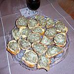 recette TOASTS. de sardines a l estragon de JEANMERODE