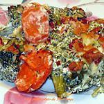 recette Casserole crémeuse au brocoli et bacon cuite au four