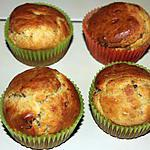 recette MUFFINS TOMATES SECHEES PARMESAN