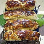 recette Feuillettés aux saucisses de Toulouse.