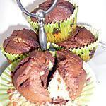 recette Moelleux marbré chocolat et bananes