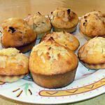 recette muffins au miel et aux amandes