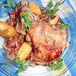 recette Cuisse de dinde aux pommes cocottes