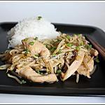 recette Sauté de poulet aux zembériques
