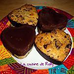 recette Cookies double choc du blog Sucre et Chocolat