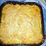 recette Gratin de cabillaud aux courgettes