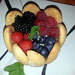 recette Charlotte aux 4 fruits et crème pâtissière(12)