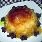 recette Gâteau aux pommes et caramélisé.au micro-ondes.