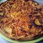 recette Tarte salée pommes de terre/carottes/lardons