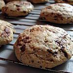 recette cookies trois chocolat