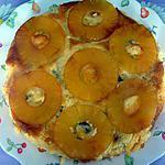 recette Gâteau caramélisé à l'ananas (semoule)