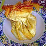 recette Aumonière banane-choco