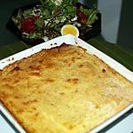 recette Hachis Parmentier de Volaille et sa Sauce Béchamel