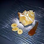 recette crêpes banane et au caramel beurre salé