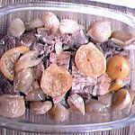 recette rouelle de porc aux échalotes et citron confit
