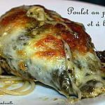 recette Poulet au pesto et à la mozzarella