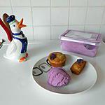 recette Petites douceurs à la violette.