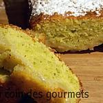 recette Cake poires/pistaches