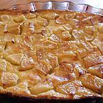 recette Far breton aux pommes caramélisées