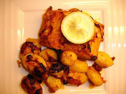 recette de morue au four et ses pommes de terre bacalhau assado no forno com batatas assadas. Black Bedroom Furniture Sets. Home Design Ideas
